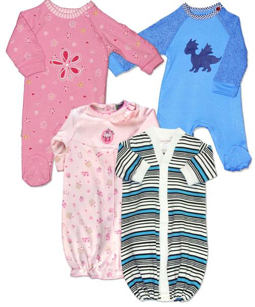 Preemie Sleepers, Preemie Rompers, Preemie Gowns